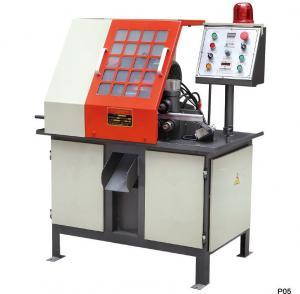 Auto Feeding Aluminum Cutting Machine Economical Energy Saving For Aluminum Lock Body Manufactures