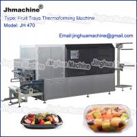 Plastic Trays/food box theromoforming machine/with lower power consumer and smart control Manufactures