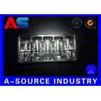 Clear PVC Plastic Packaging Trays For Vaccines Vials 2mL / 3mL with Embossing Logo Manufactures