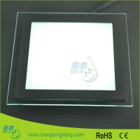 Quality Residential 18 Watt SMD Flat Panel LED Lights 200mm Of Pure White 6000k for sale