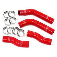 Red Exhaust Silicone Rubber Hose For Racing Vehicles , Rubber Hose Pipe Manufactures