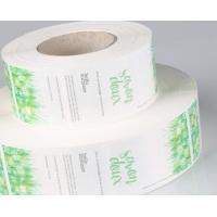 Food PVC Self Adhesive Labels Matte / Glossy Lamination Finish CMYK Colors Manufactures