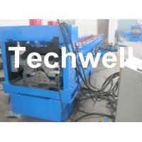 Manual, Automatical Decoiler Top Hat Cap Roll Forming Machine Manufactures