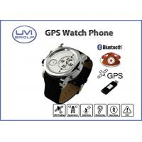 PT202E Dual Time Personal GPS Watch Phone / GPS Wrist Watch Tracker with GPS, AGPS, SOS Manufactures