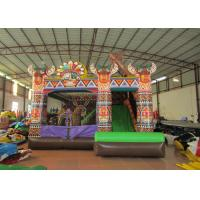 Buy cheap Inflatable Indian type jump house PVC inflatable bouncer colourful inflatable from wholesalers