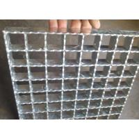 Hot Rolled Serrated Steel Grating Galvanized Surface Light Weight Manufactures