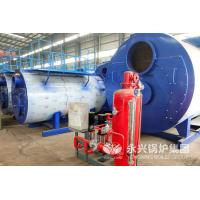 3 Ton Industrial Gas Fired Hot Water Boiler 2.1MW No Explosion Risk Simple Operation Manufactures