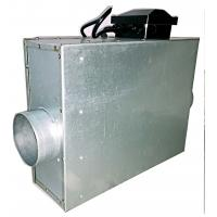 Industrial Square Duct Booster Fan , Inline Duct Fan Quiet For Ventilation Manufactures