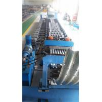 China Metal Roll Forming Machine , Galvanized Corrugated Steel Silo Forming Machine on sale