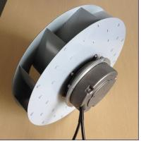 Electric Power EC Industrial Centrifugal Blower With External Rotor Motor Manufactures