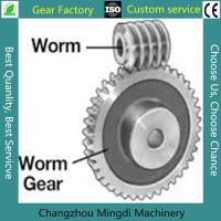 Rosh/CE/ISO Spiral Bevel Gear Custom Worm And Worm Gear Set For Toys Manufactures