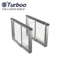 Buy cheap Brushless Motor Swing Barrier Gate For Office Building / Pedestrian Swing from wholesalers