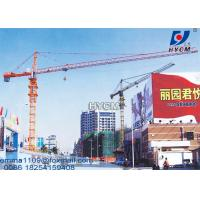 Cheap 50m 6 ton Cat Head Tower Crane Price For Civil Construction Projects for sale