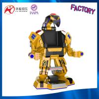amusement park outdoor & indoor walking robot with Laser fighting mode and shining light Manufactures
