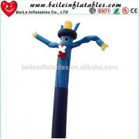 China Blue omber dress funny ties inflatable sky dancer on sale