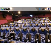 Cheap Business Centre 4D Movie Theater Electric Motion Rider Equipment 80 Seats for sale