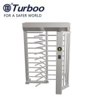 RFID Facial Barcode Recognition Full Height Turnstile / SUS304 Full Height Gate 24V Manufactures