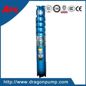 China Vertical submersible deep well lift water pump, cast iron high head centrifugal pump on sale