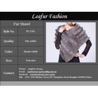 Elegant Rex Rabbit Fur Shawl Manufactures