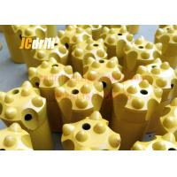 11° Tapered Button Rock Drill Bits For Small Hole / Quarry / Tunnel Bench Drilling Manufactures