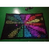 High Brightness P8 Flexible LED Curtain 7 Channel Dmx Controller For Background Manufactures