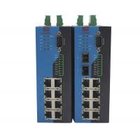 Wall Mounted Serial Port Modbus Managed Ethernet Switch Serial To Ethernet Device Manufactures