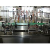 Cheap Flat Bottle Liquid Cooking Oil Filling Machine / Mineral Water Filling Machine for sale