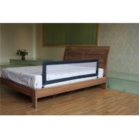 China Black Safety Slat Bed Guard Rails With Non-corner ,Convertible Crib  Guard Rails on sale