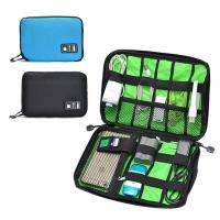 Digital Cable Organizer Travel Storage Bags Size  Customized With Zipper