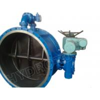 Cheap Gear Operated Flanged Butterfly Valve 1000mm for Hydropower for sale