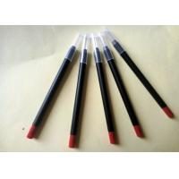 Long Lasting Red Lipstick Pencil PVC High Performance Simple Design ISO Manufactures