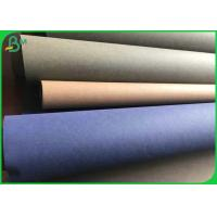 Natural Material Waterproof 0.3mm 0.55mm Washable Kraft Paper For Shopping Bags Manufactures