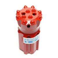 T45-76mm Threaded Button Drill Bits Superior Drilling Performance With 14 Buttons Manufactures