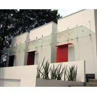 Outdoor Residential Canopy Laminated Security Glass Single Glass Thick 6 MM Manufactures