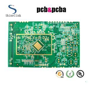 Quick turn single layer printed circuit board , 1 layer Green printed circuit board