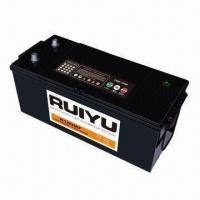 China Maintenance-free Truck Battery with Calcium Plates on sale