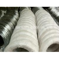 Corrosion Resistance 24 Gauge Galvanized Steel Wire For Hanger / Reinforcement Steel Manufactures
