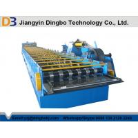 Fully Automatic Floor Deck Roll Forming Machine With 45# Steel Manufactures