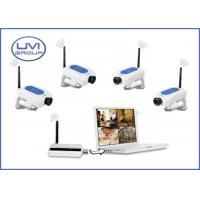 WC-01/WC-02 4 Channel Motion Detection Digital 2.4Ghz Wireless Security Surveillance Camera Kits Manufactures