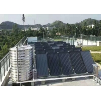 China 250L 316 Stainless Steel Flat Plate Solar Water Heater Blue Coating Flat Collector flat solar water heater on sale