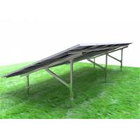 Framed Solar PV Mounting Systems High Pre - Assembly Parts Optional Tilt Angle