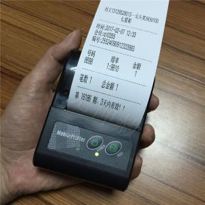 Mini Portable 58mm Bluetooth Thermal Printer Wireless Receipt USB Bluetooth Printer For Windows Android IOS POS Printer Manufactures
