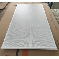 595x1195mm Galvanized Steel Acoustic Ceiling Tiles For Shopping Malls Manufactures