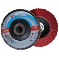 Quality 125 MM red Ceramic flap disc with T27 fiberglass backing for sale