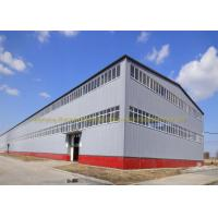 Anti Rust Warehouse Steel Structure Prefab Metal Buildings Hot Dip Galvanized Manufactures
