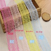45cm Lace Ribbon Tape DIY Embroidered Lace Trim Fabric Sewing Decoration