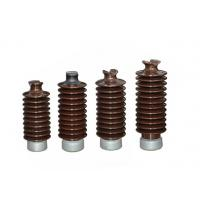 Buy cheap 12KV High Voltage Electrical Ceramic Insulators Safe With High Efficiency from wholesalers