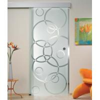 """5/16"""" Tempered Sliding Glass Doors With Smooth Surface Safety Manufactures"""