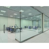 Soundproof Glass Partition Walls Laminated For Shopping Mall Manufactures