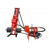 DM100B Portable Pneumatic Engineering Drilling Rig 20m Hole Depth 1m Feed Stroke Manufactures